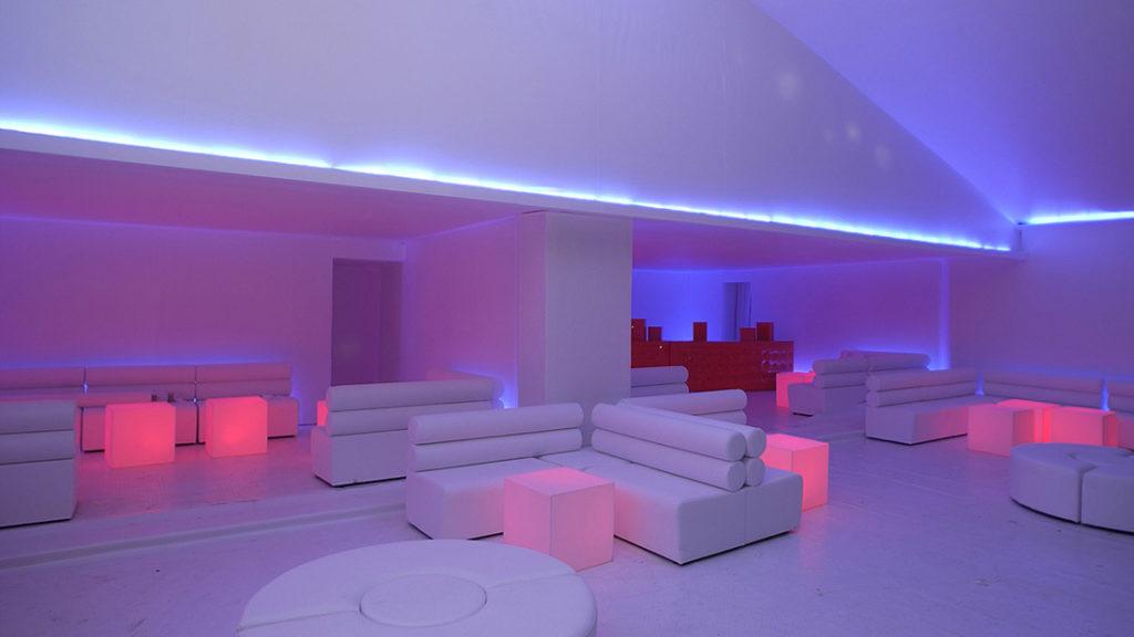 Dance floor et lounge