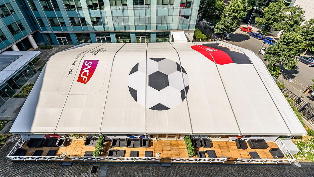 Structure pour l'Euro de Football 2016