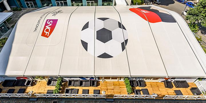 Structure pour l'Euro de Football