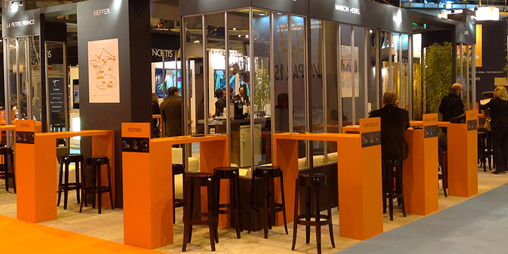 Stand Traiteurs de France Heavent Paris