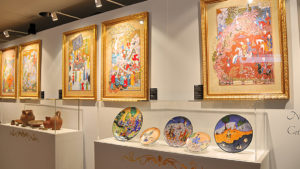 Exposition d'Art à Megève