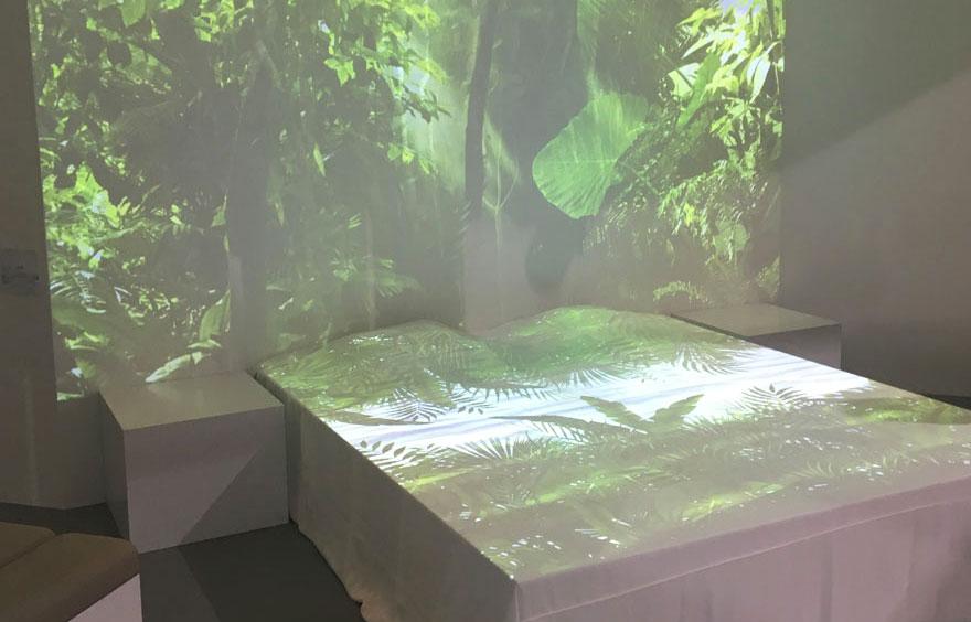 Tête de lit jungle