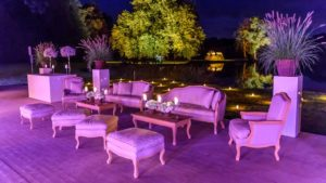 Espace lounge mariage