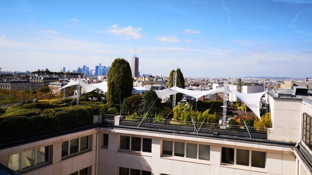 Voile Lycra en rooftop